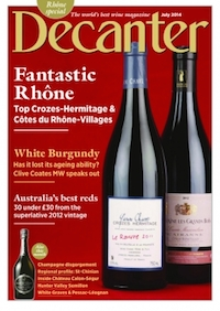 Decanter Juillet 2014