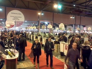 Agenda et invitations des salons et d gustation de vin for Salon du vin champerret