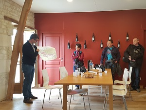 Rencontre avec le vigneron au Château de la Bonnelière à Chinon