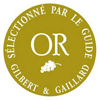 Chateau Coutet Or du Guide Gilbert & Gaillard