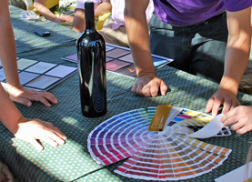 Make your own barrel of wine team building event in the south of France